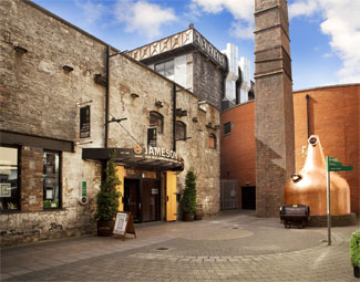 Old Jameson Distillery - Dublin Ireland