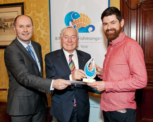 Jason Whooley, Fergal Quinn and Graham Rogerson