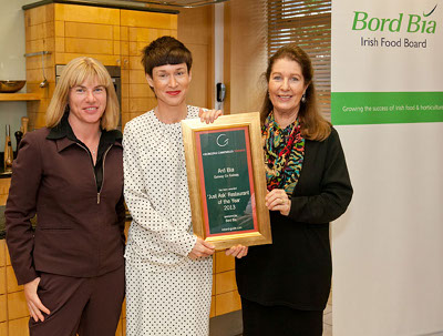 Just Ask Restaurant of the Year 2013 - Ard Bia, Galway City