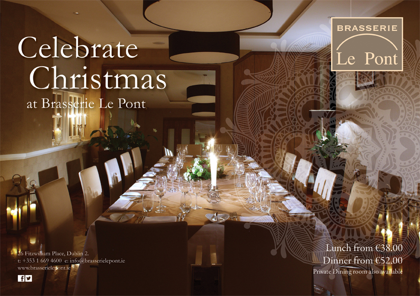 Christmas at Brasserie le Pont