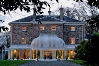 Marlfield House Gorey - Wedding Venue - Evening