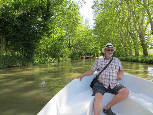 Martin Dwyer on the Canal du Midi