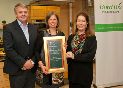 Natural Food Award 2013 | Glenilen Farm Dairy Products, Drimoleague, Co Cork
