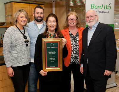 Newcomer of the Year 2013 | East Café Bar, The King Sitric, Howth, Co Dublin