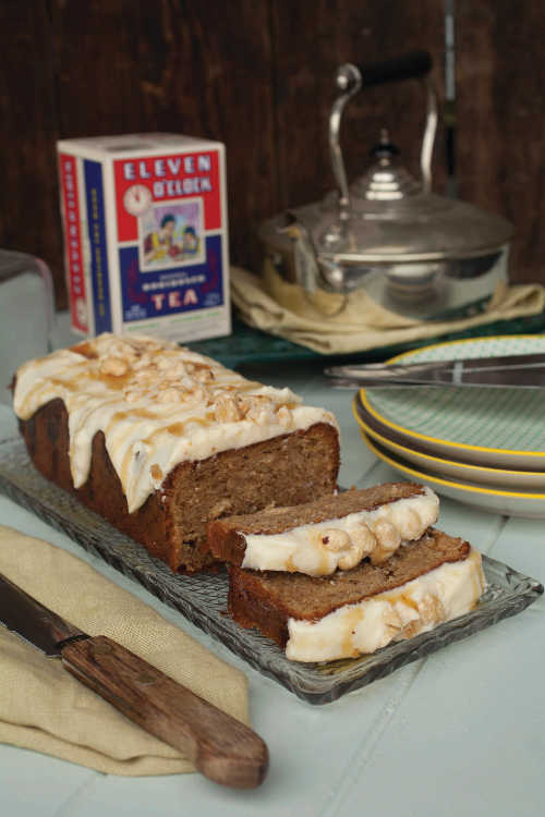 Parsnip and Hazelnut Tea Loaf