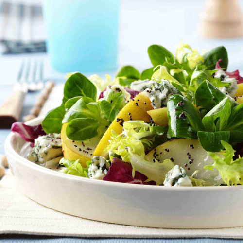Mary Risley's Pear, Gorgonzola & Walnut Salad