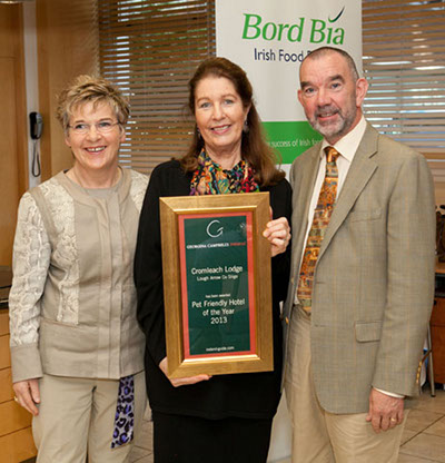 Pet Friendly Hotel of the Year 2013 | Cromleach Lodge, Lough Arrow, Co Sligo