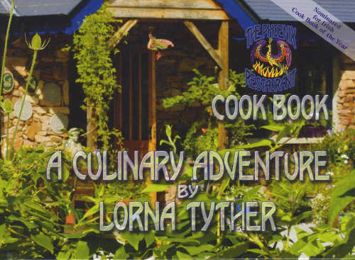 The Phoenix Restaurant Cookbook, A Culinary Adventure by Lorna Tyther hardback 134pp (Firebird Publishers, 2011).