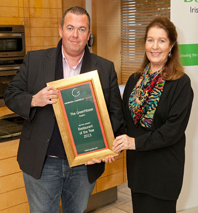 Restaurant of the Year 2013 - The Greenhouse, Dublin