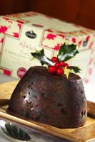 Roly's Christmas Pudding from Roly's Cafe & Bakery Cookbook