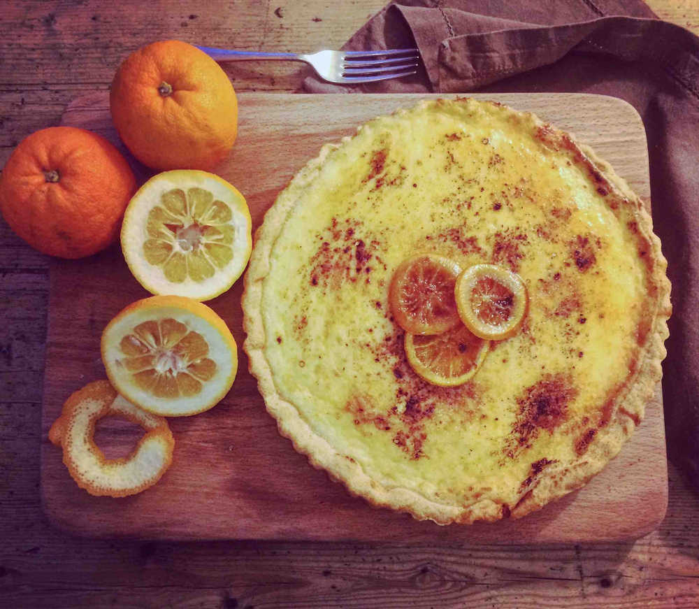 Seville Orange Tart