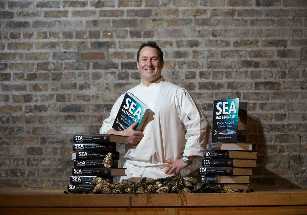 SEA GASTRONOMY Fish & Shellfish of the North Atlantic by Michael O'Meara (Artisan House hardback 440pp, with original photography by the author; Foreword and wine guidance by Ernie Whalley. €30