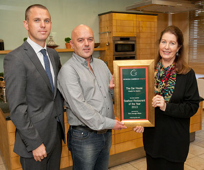 Seafood Restaurant of the Year 2013 - The Oar House, Howth, Co Dublin