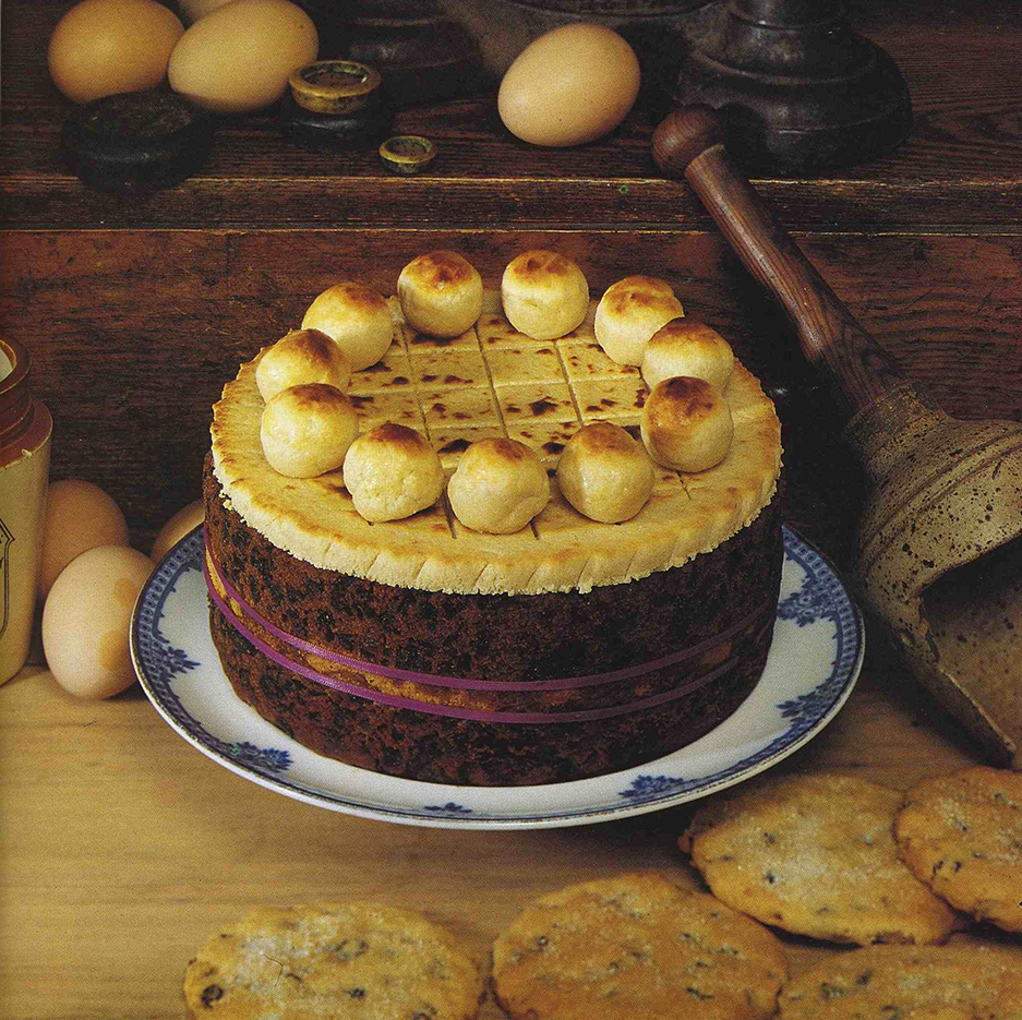 "Simnel Cake, ""Meals For All Seasons"" Wolfhound Press 1992"
