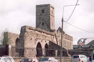 Sligo Abbey - Sligo Town County Sligo Ireland