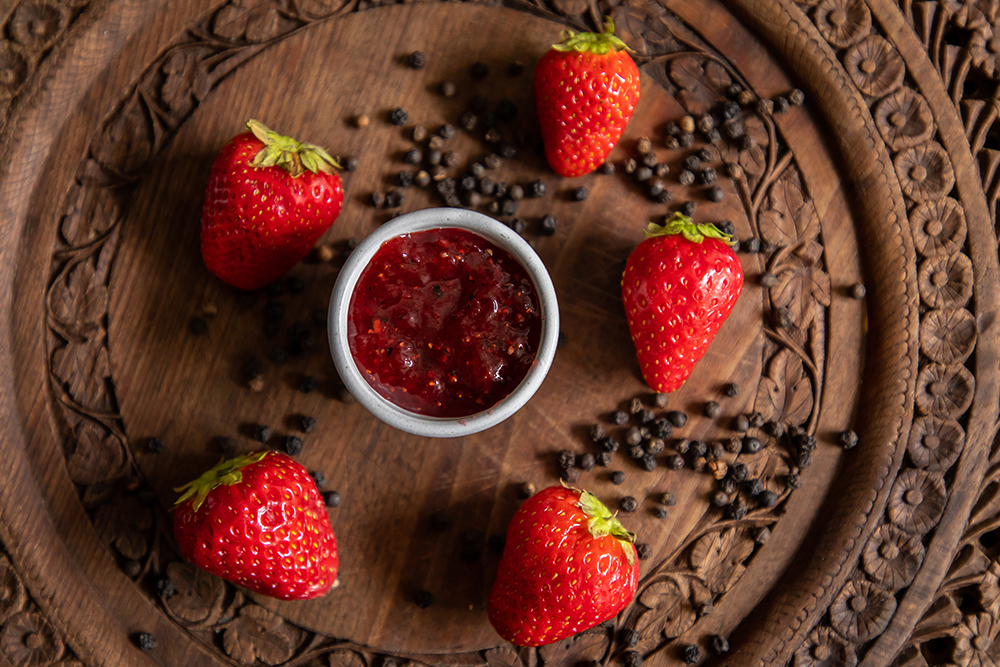 Strawberry and Pepper Jam