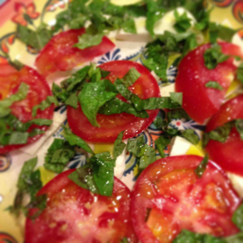 Texas Tomatoes with Olive Oil