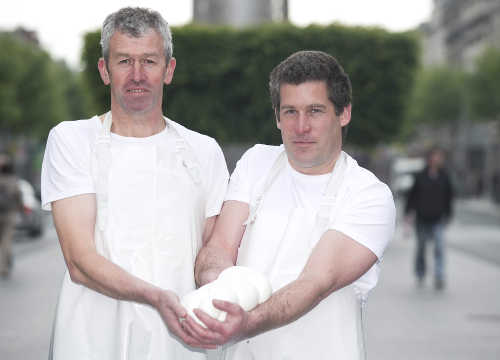 Toby Simmonds & Johnny Lynch of Toonsbridge Dairy