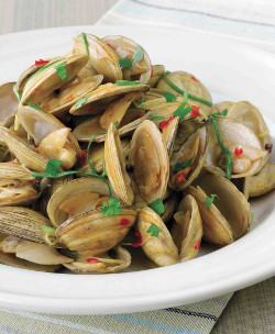 Wok Fried Clams