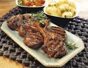 Barbecued Lamb Cutlets