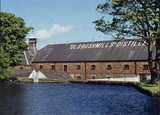 Bushmills Distillery - Bushmills County Antrim Northern Ireland