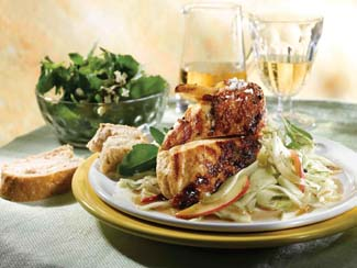 Chicken Breast with Fennel and Rocket Salad