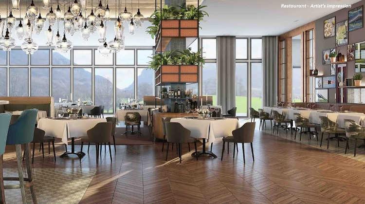 The Dunloe Hotel & Gardens - Restaurant