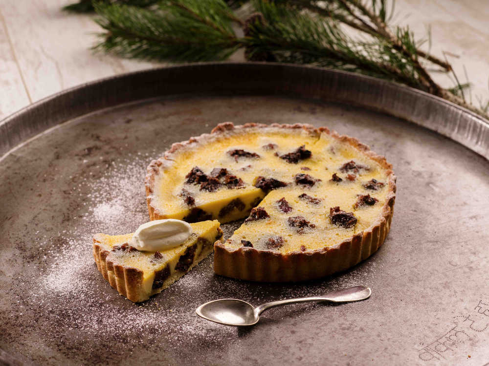 Christmas Pudding Pie
