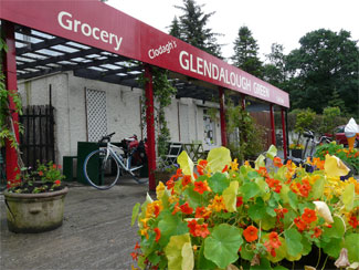 Glendalough Green - Cafe Laragh Glendalough County Wicklow Ireland
