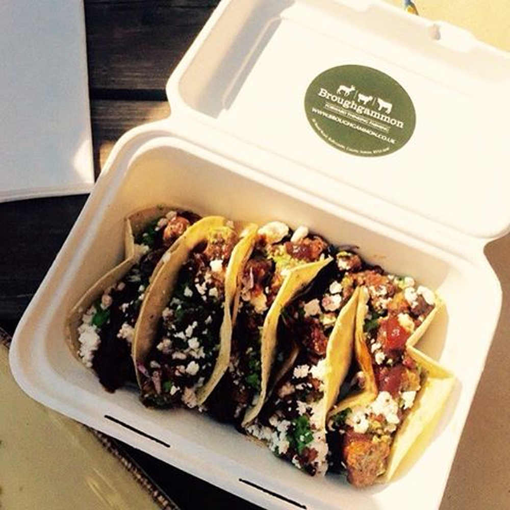 Broughgammon Farm's goat tacos