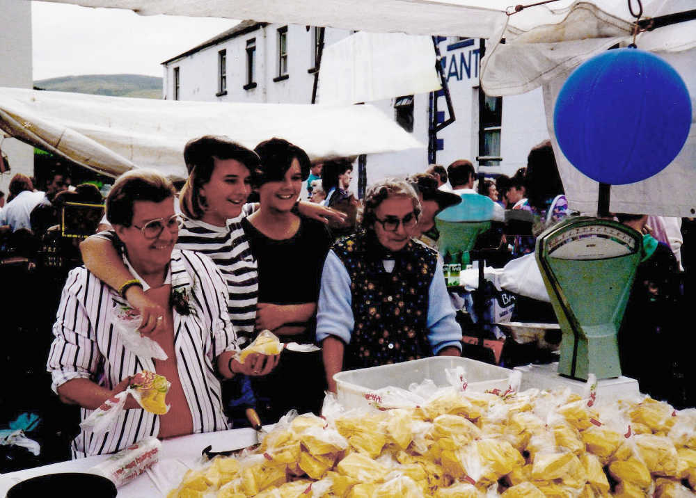 Lammas Fair in the 1980s