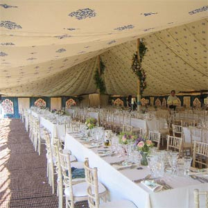 Lisnavagh House - Wedding Marquee