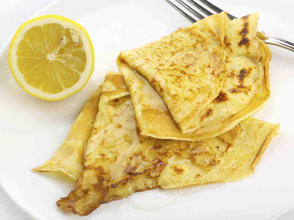 Pancakes with Lemon