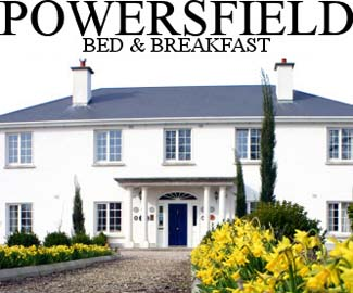 Powersfield House B&B - Dungarvan County Waterford Ireland
