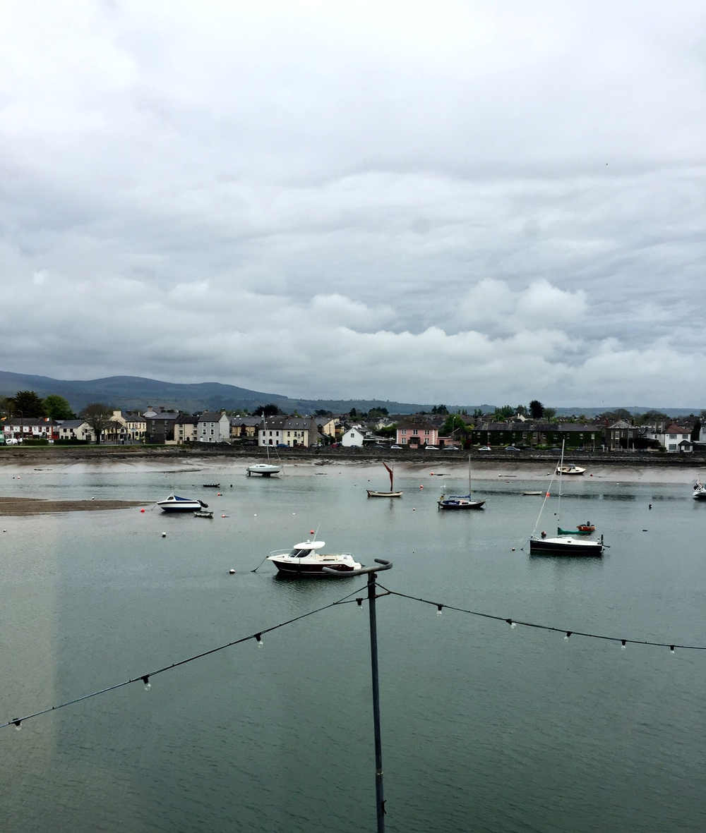 View from the Moorings, Dungarvan