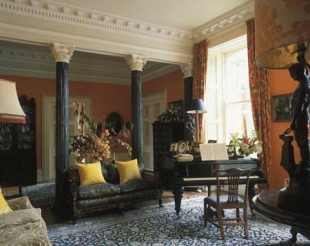 Ballyvolane House - Hall and Piano
