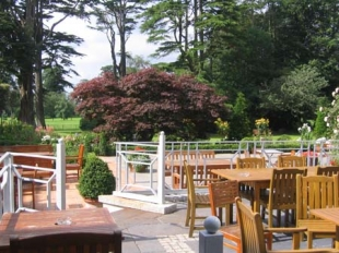 Ballymascanlon House Hotel - Decking Area