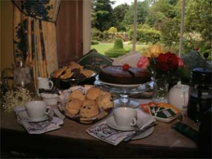 Kilmokea Country Manor & Gardens - Campile County Wexford Ireland - Afternoon Tea