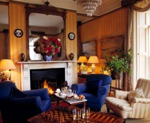Rosleague Manor Hotel - Letterfrack County Galway Ireland - Gold Drawing Room