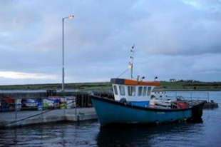 Linnanes Lobster Bar - New Quay County Clare Ireland - Boat