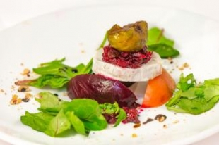 A Goats Cheese, pickled beetroot, roasted fig.jpg