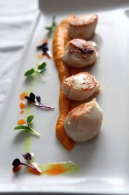 Eala Bhan Restaurant Sligo - Scallops