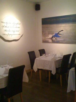 Eala Bhan Restaurant Sligo - Interior
