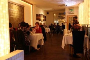 Eala Bhan Restaurant Sligo - interior with customers