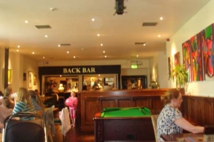 Ballymore Inn, Back Bar