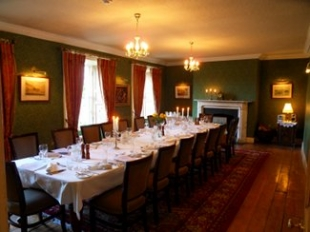 Ghan House - Carlingford County Louth Ireland - Private Dining Room