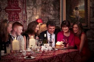 White Gables Restaurant - Moycullen County Galway Ireland - group