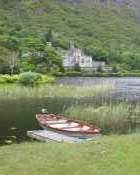 Kylemore over the lake