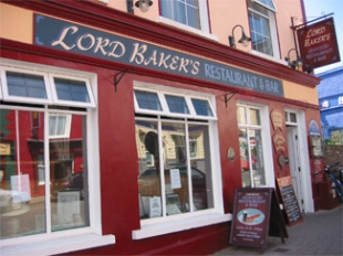 Lord Bakers - Restaurant & Bar - Dingle County Kerry Ireland