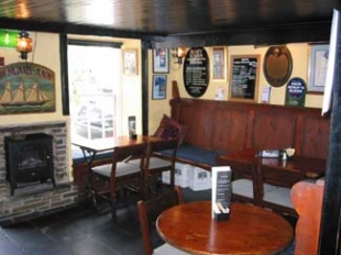 Mary Ann's Bar & Restaurant - Castletownshend County Cork Ireland - interior